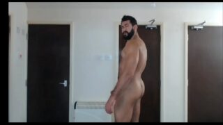 My Muscled cousing send me this video naked